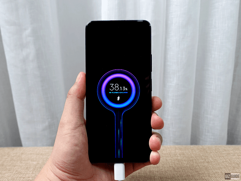 67W Turbo Charging for the 5,000mAh battery