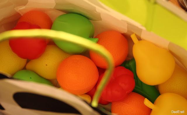Fruits et légumes jouets