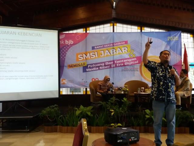 Kamsul  Hasan : Perusahaan Pers Harus Badan Hukum  dan Terdaftar Secara Administrasi