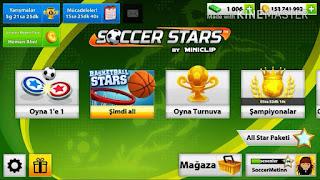 Soccer Stars Mod Apk Full version