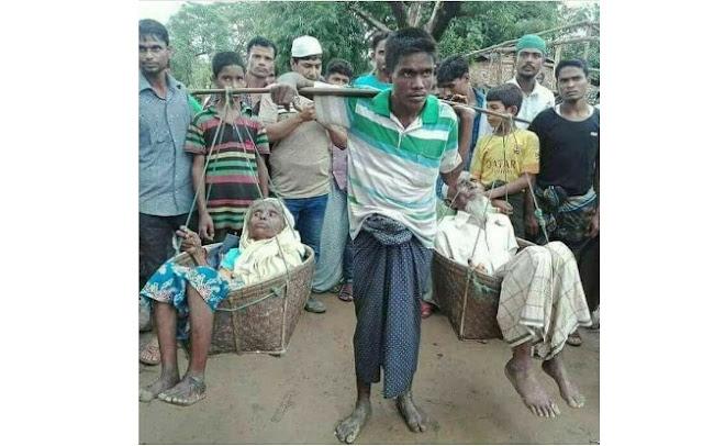 Uwais Al Qarni abad sekarang dari Rohingya