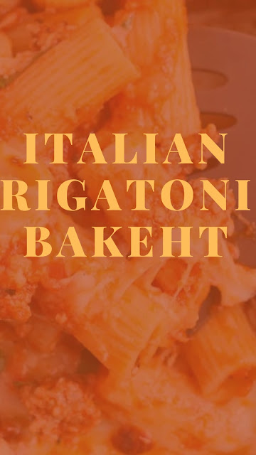 Italian Rigatoni bakeht