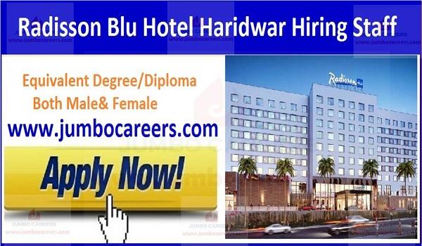 Haridwar hotel jobs,