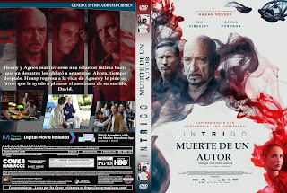 CARATULA INTRIGO MUERTE DE UN AUTOR - INTRIGO TOD EINES AUTORS - DEATH OF AN AUTOR 2018[COVER DVD]