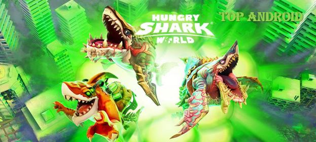 Hungry Shark World MOD APK Unlimited Gems
