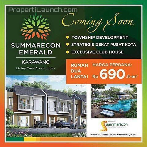 Brochure Iklan Summarecon Emerald Karawang