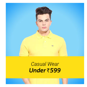 Casual Men's Wear under Rs. 599