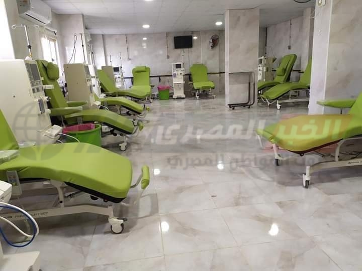 الخبر المصري داخل وحدة الغسيل الكلوى بمستشفى سوهاج العام بعد تطويرها