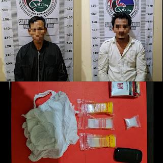 Team Satuan Narkoba Polres Tubaba Berhasil Mengamankan Dua Pelaku Penyalahgunaan Narkotika