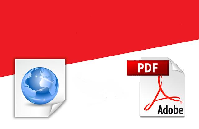 كيف تحتفظ بمواقعك المفضّلة كملفات PDF؟