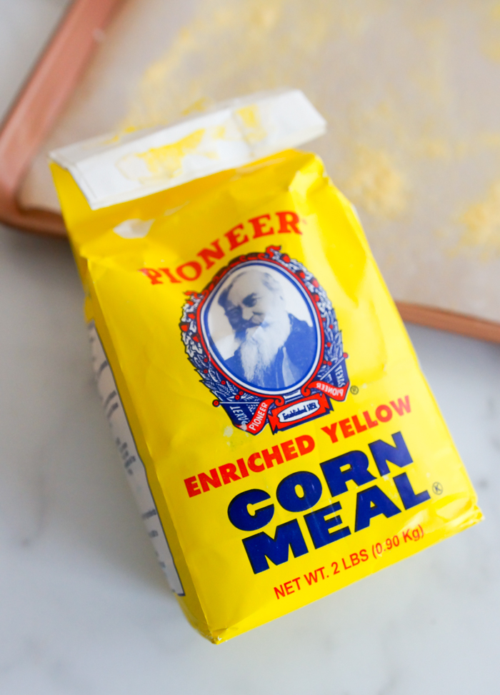 corn meal bag