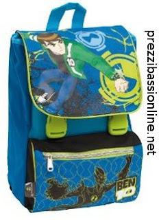 scarpe sportive c1bf6 06dae Prezzi Bassi Online: Zaino scuola Ben 10, offerte, prezzi ...