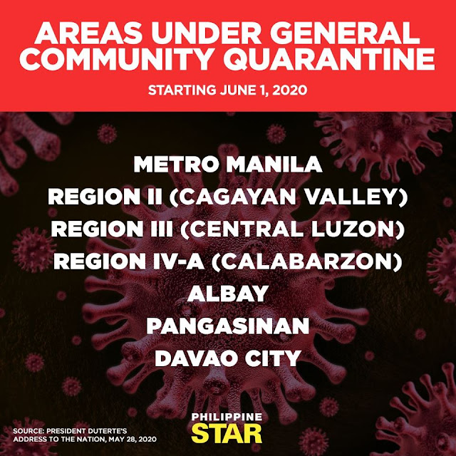 Advisory: Metro Manila under GCQ starting June 1, 2020   Gateway to Canada Office Opens June 8, 2020