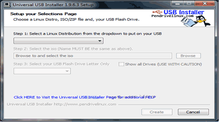 Cara Membuat Bootable OS windows, Linux Dengan universal USB