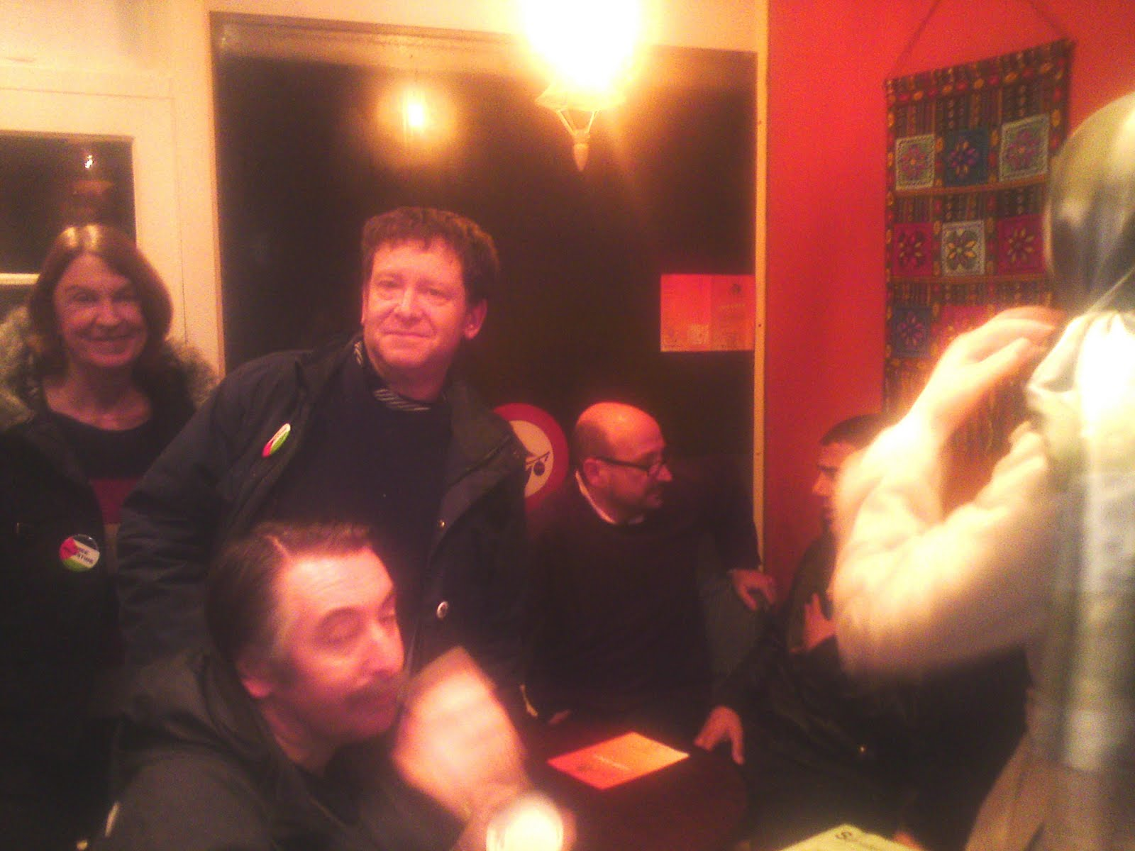 Tony Greenstein Blog: Tony Greenstein's Blog: Brighton PSC Hosts Speaker From