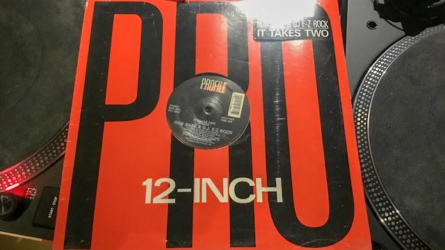 Rob base & DJ EZ Rock-It takes two 12inch single