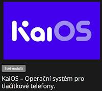 KaiOS – Operační systém pro tlačítkové telefony. - AzaNoviny