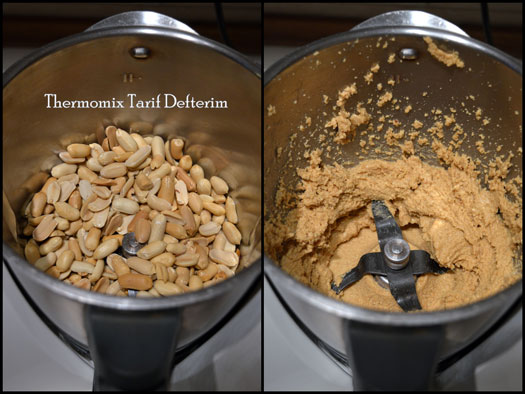 Step by step photographed Peanut Butter recipe with Thermomix