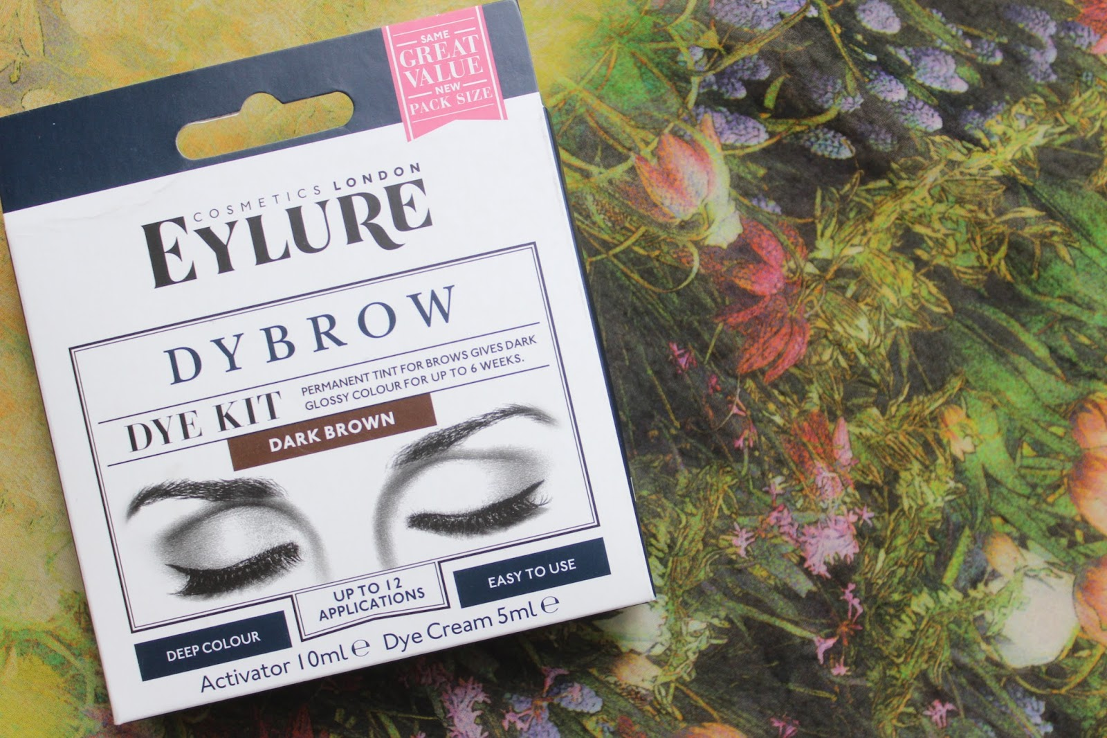 99a26a12e3f The Mermaid Life: EYELURE DYBROW REVIEW IN DARK BROWN - BEFORE AND AFTER