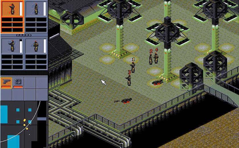 Syndicate 1993 schermata di gioco