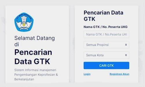Foto Review Cara Cek dan Cari Nomor NUPTK Via Online di Kemdikbud Terbaru - www.herusetianto.com