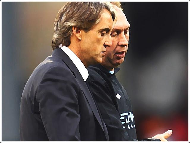 David Platt Manchester City Roberto Mancini