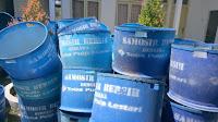 Dinas Lingkungan Hidup Samosir Minta Bantuan ke TPL, Dikasih Tong Sampah