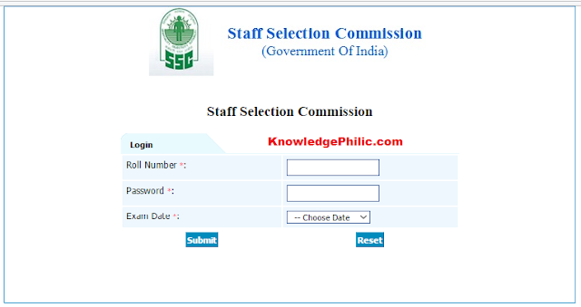SSC Junior Engineer (JE) 2016 Tier-1 Answer key released, Download
