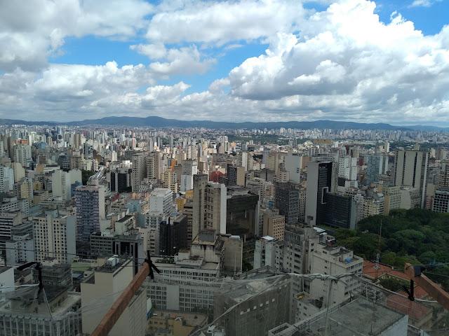 Vista desde o Edifício Copan