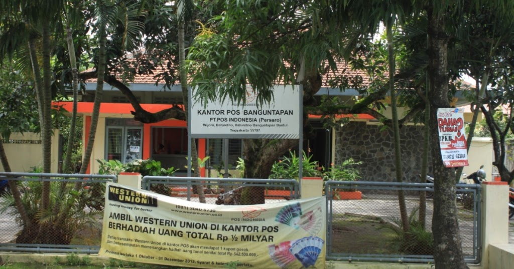 Kantor Pos ~ Kecamatan Banguntapan