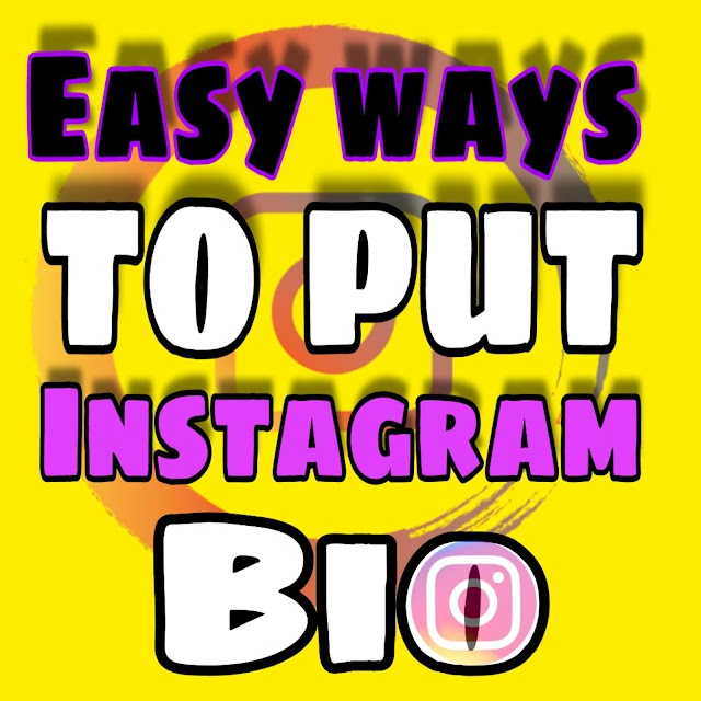 Easy steps to put Instagram Bio in 2020