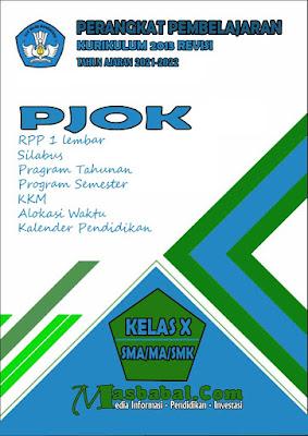 Perangkat Pembelajaran PJOK Kurikulum 2013 Revisi Terbaru