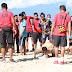 Jalin kemitraan :Koramil Kota gelar olah raga bersama dengan karang taruna Arowi