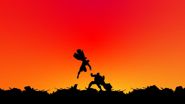 wallpaper-4k-batman-vs-superman