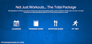 whats included, total package, workout program, calendar, fitness, nutrition, beachbody, on deman