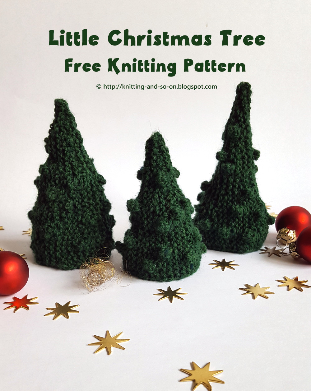 Knitting Lace Christmas Tree Pattern : Knitting and so on: O Christmas Tree