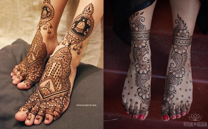 Mehndi Designs for Legs or Foot | Mehndi Creation