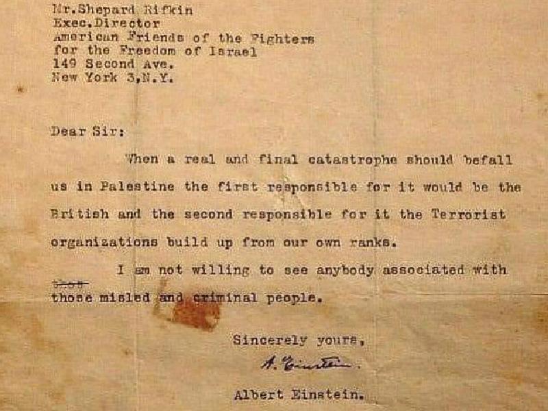 Heboh-Kemunculan-Surat-Albert-Einstein-Bahas-Gejolak-di-Palestina-Beberkan-Pihak-yang-Bertanggung-Jawab