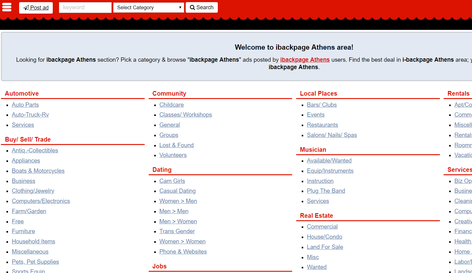 Backpage than sites better 10 Websites