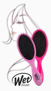 The WET BRUSH works on wet hair