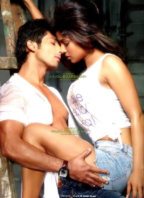 priyanka chopra kissing scene