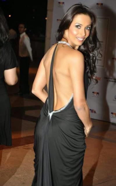 Image result for malaika arora backless dress photo