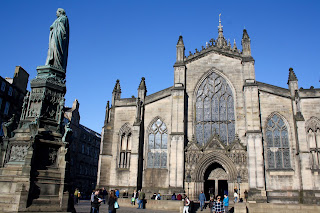 edinburgh st giles cathedral visit