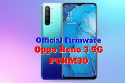 Firmware Oppo Reno 3 (PCHM30)