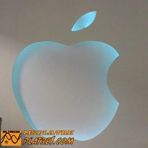 Décoration logo Mac