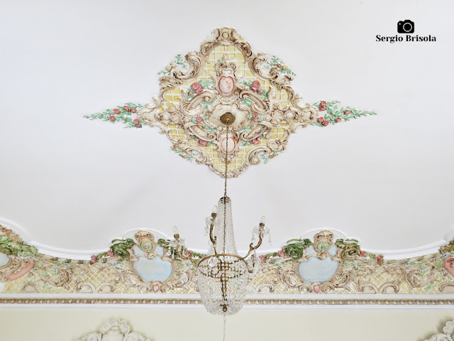 Palacete Basílio Jafet (lustre da Sala de Visitas)