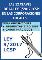 Resumen y esquemas de la Ley de contratos del Sector Público + 30 preguntas tipo test + 4 casos prácticos