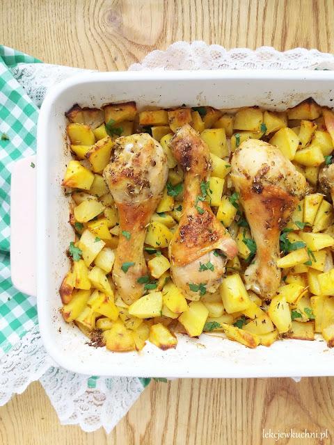 Pieczone udka z kurczaka przepis