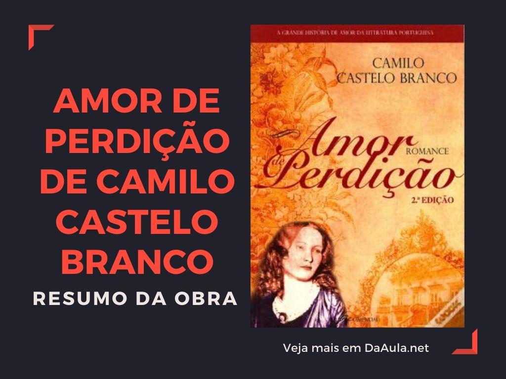 Amor de Perdição de Camilo Castelo Branco: Resumo da Obra