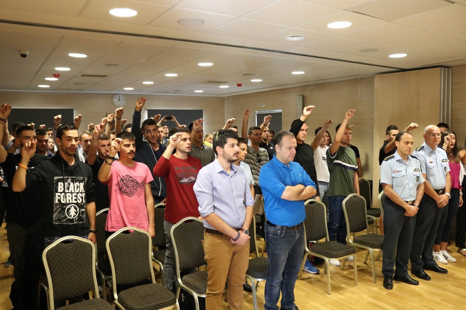 Ορκίστηκαν οι 80 νέοι Ειδικοί Φρουροί στην Λάρισα